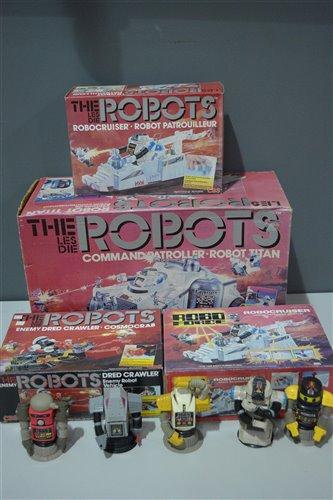 Lot 1004-The Les Die (Roboforce) Robots