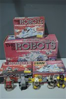 Lot 1004-The Les Die (Roboforce) Robots