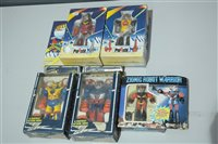 Lot 1007-Small Robot figures