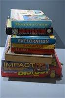 Lot 1570 - Vintage boardgames
