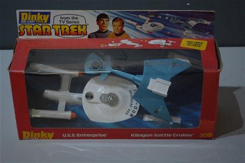 Lot 1504-Dinky Star Trek 309 Gift Set