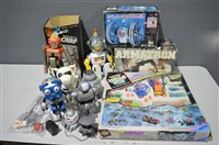 Lot 1008-Toy robots
