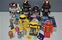 Lot 1010-1970s robots