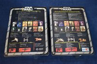 Lot 1227-Star Wars die cast Tie Fighters