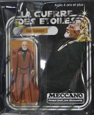 Lot 1231 - Star Wars Ben Kenobi by Meccano