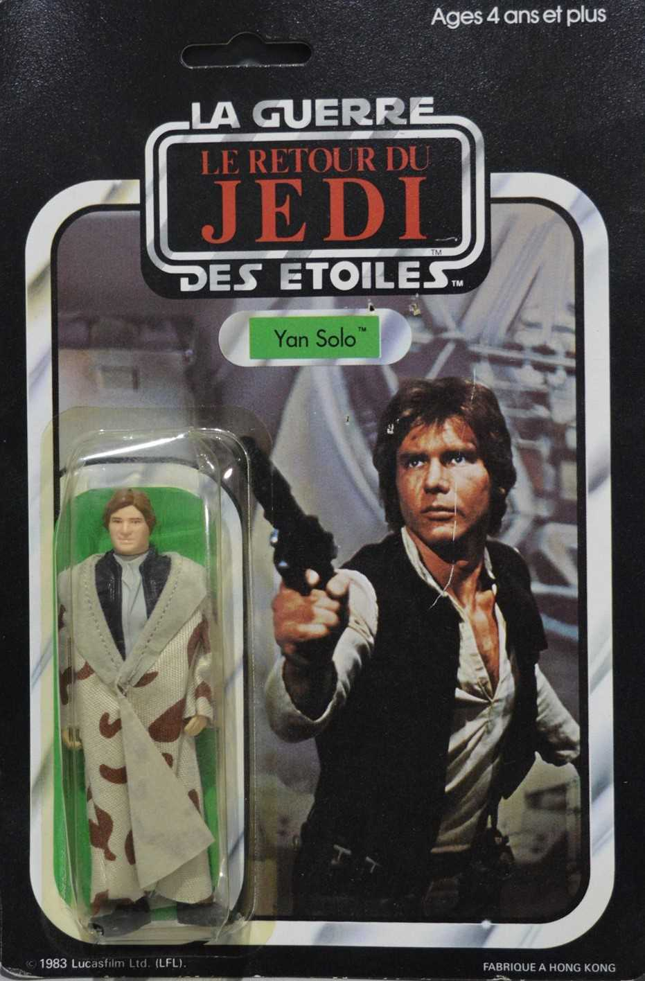 Lot 1232-Star Wars Yan Solo