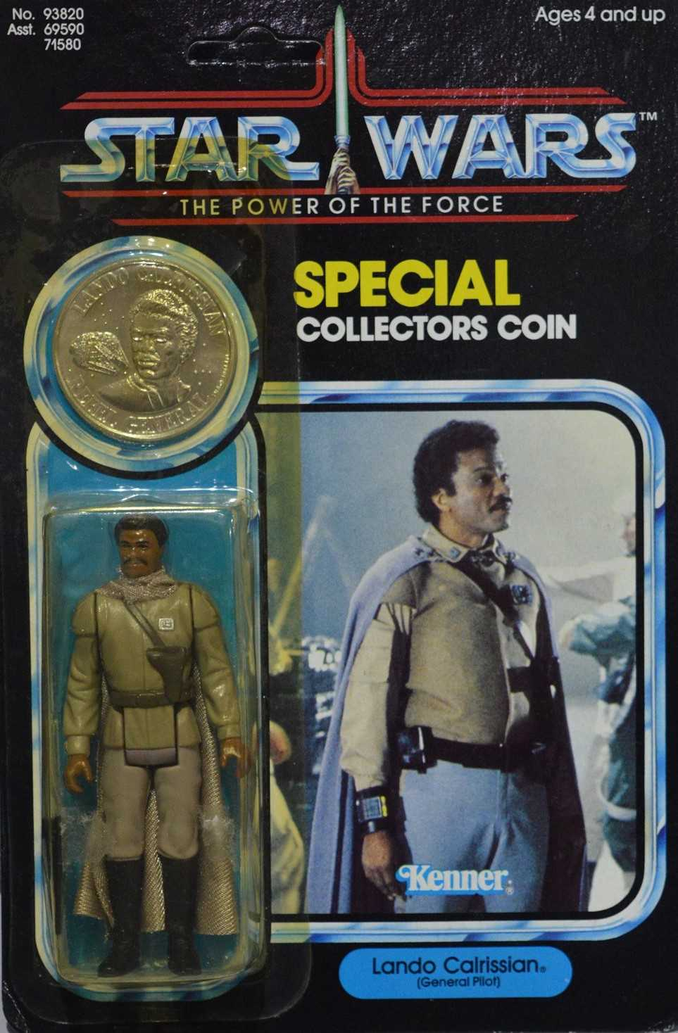 Lot 1242-Star Wars Collectors coin Lando Calrissian by Kenner