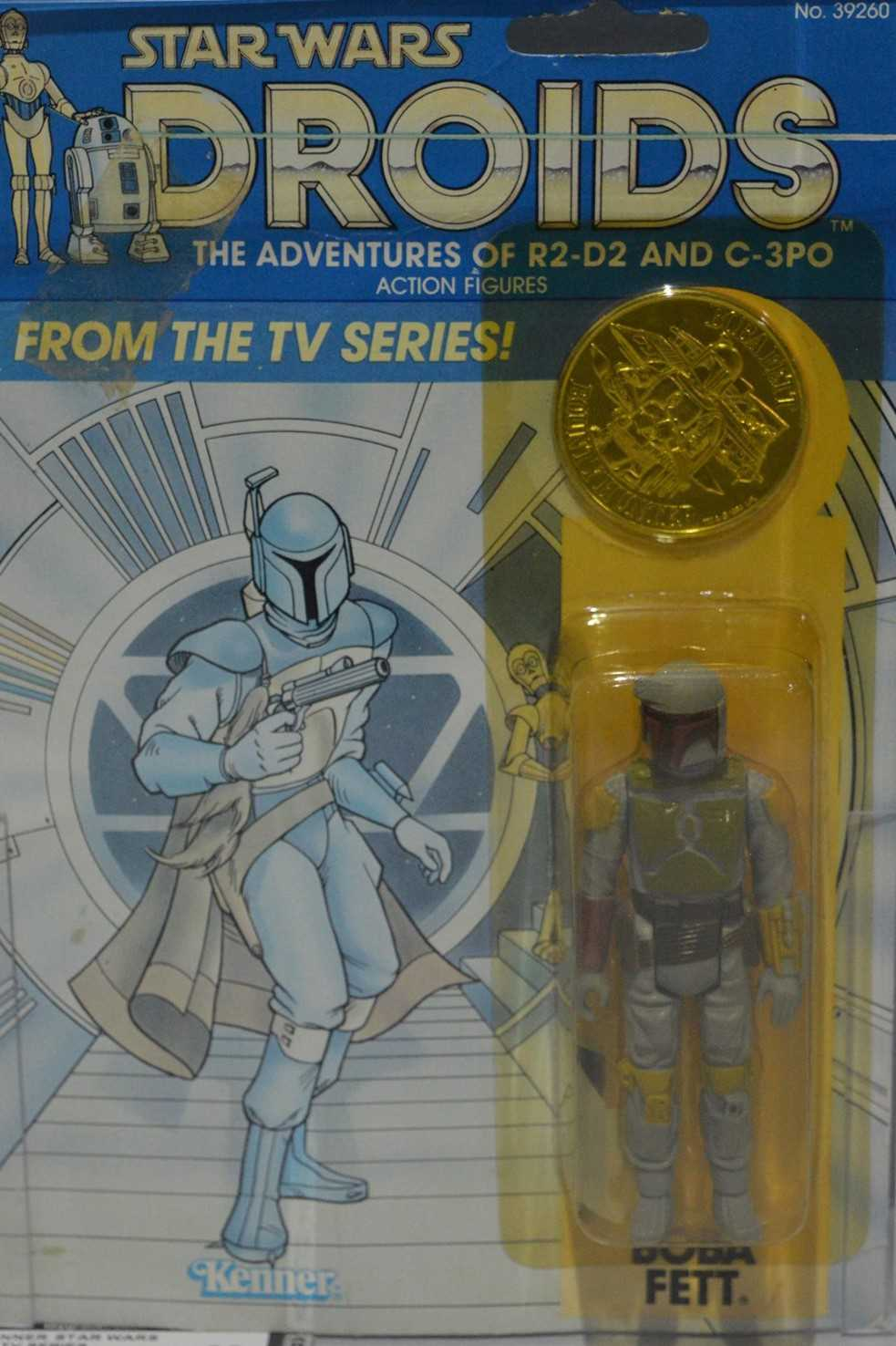 Lot 1251-Star Wars Droids Boba Fett by Kenner