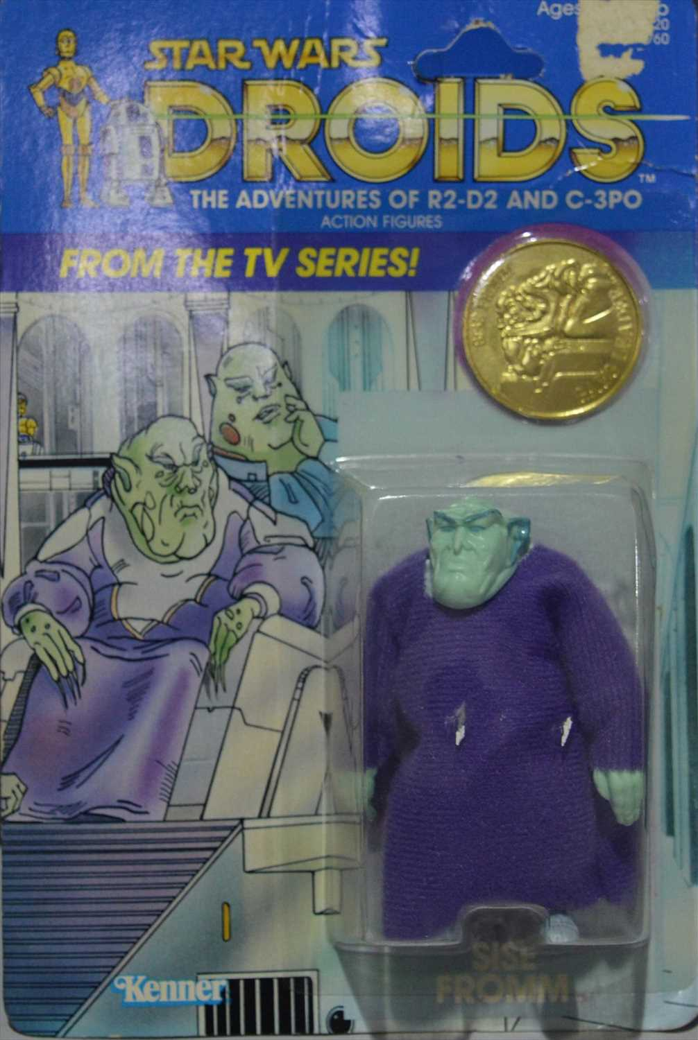 Lot 1257-Star Wars Droids Sise Fromm by Kenner