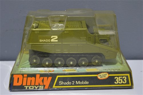 Lot 1505-Dinky Toys Shado 2 Mobile