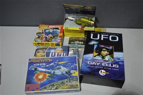 Lot 1510-Gerry Anderson's UFO SHADO collectables