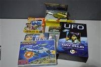 Lot 1510 - Gerry Anderson's UFO SHADO collectables