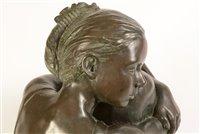 Lot 48-Veda Hallowes - sculpture.