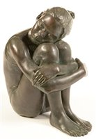 Lot 48-Veda Hallowes - sculpture.