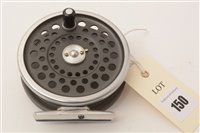 """Lot 150-Hardy's of Alnwick """"The Marquis"""" fly fishing reel"""