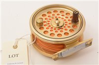 """Lot 156-Hardy's of Alnwick, """"The Sovereign"""" fly fishing reel"""
