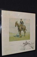 Lot 445-'Snaffles' Charles Johnson Payne print