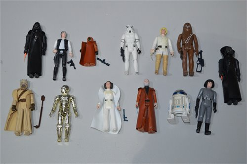 Lot 751-Star Wars figures by Kenner and others