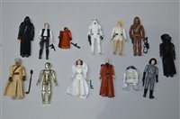 Lot 751 - Star Wars figures by Kenner and others