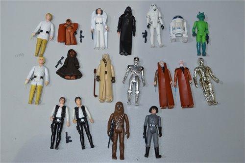 Lot 1264 - Star Wars Figures