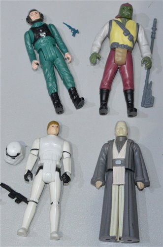 Lot 1266 - Star Wars Figures