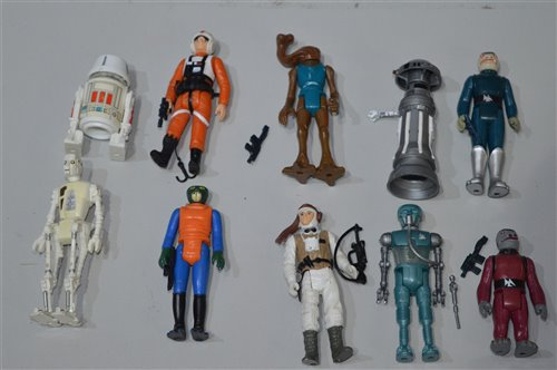 Lot 1270 - Star Wars Figures