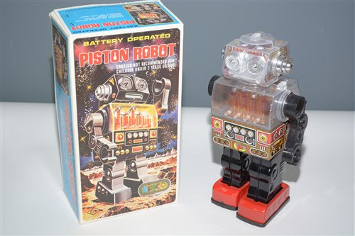 Lot 1019-SJM Piston Robot