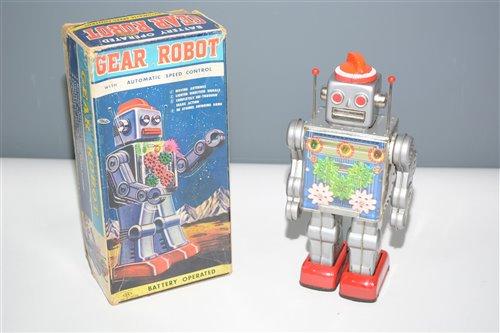 Lot 1022-SH Horikawa Gear Robot