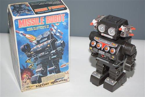 Lot 1026 - SH Horikawa Missile Robot