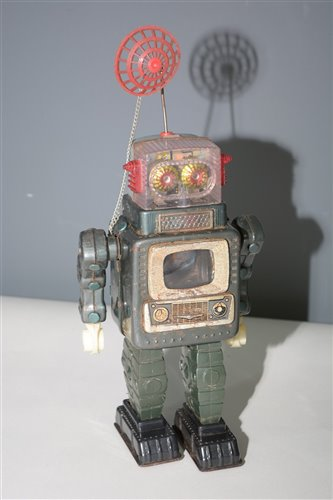 Lot 1031-Alps TV Robot