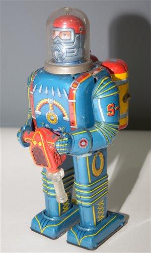 1035 - Daiya tin plate Astronaut