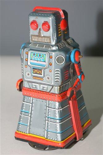 1041 - KO Japan tin plate Robot