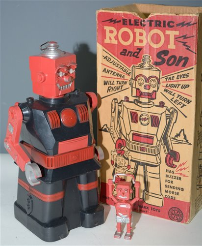 1058 - Marx Electric Robot and Son