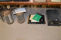 Lot 347-Richard Allan speakers, record player, Armstrong amp, JVC tuner