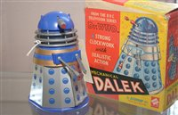 Lot 1857-Codeg Dalek clockwork toy, boxed