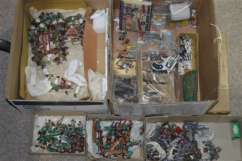 Lot 1499 - Cold painted diecast figures