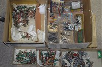 Lot 1499-Cold painted diecast figures