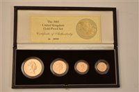 176 - 1985 gold proof set