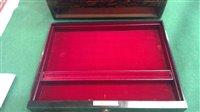 Lot 410 - Dressing box