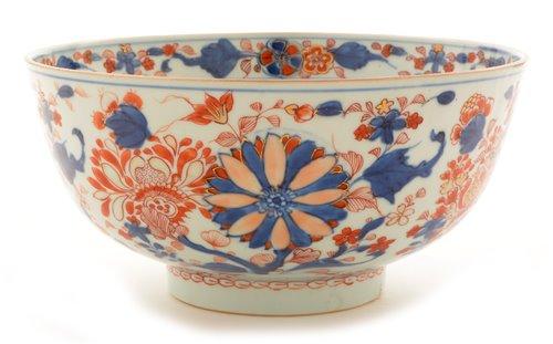 Lot 3-Chinese Imari bowl.