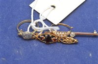 Lot 304-Two rings and two brooches