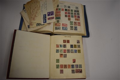 Lot 4-Two albums of stamps British and Commonwealth.