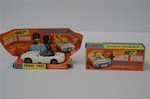 Lot 1977-Corgi James Bond Toyota 2000GT