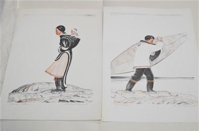 Lot 34-Harold Beaumont colour lithographs