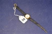 Lot 310-Le Royer 18ct watch