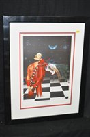 Lot 5A-After Trevor Horswell print