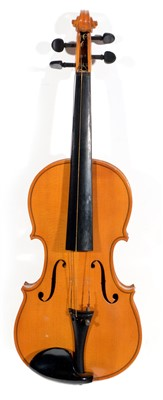 Lot 89 - A Czechoslovakian Concert Violin