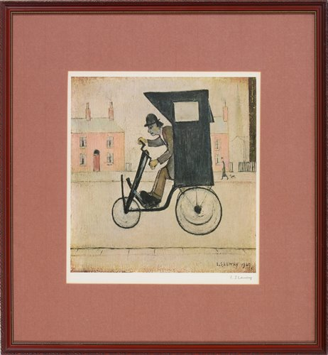 Lot 153-After Laurence Stephen Lowry - print.