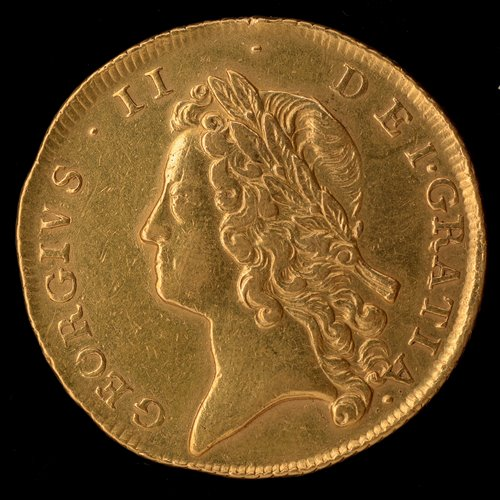 171 - George II gold two guineas