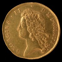 Lot 171-George II gold two guineas